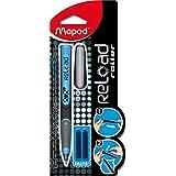 Maped Roller encre à cartouche Bleu / Noir Pte Moyenne