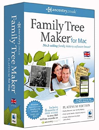 Family Tree Maker for Mac Platinum (Mac)