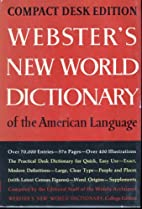 Webster's New World Dictionary, School…