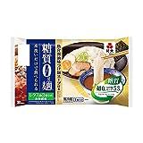 紀文 糖質0g麺 魚介醤油味つけ麺スープ付き 6個セット クール便発送 【キャンセル、返品不可】