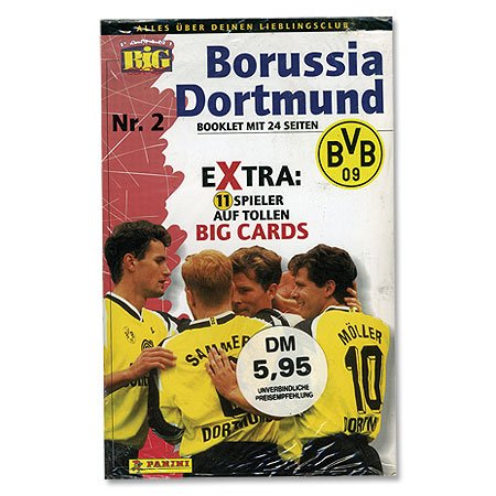 1996 Borussia Big Card Set Sammelkarten