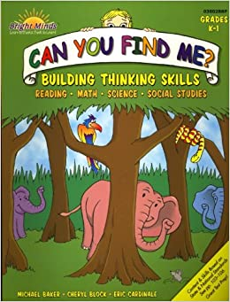 Can You Find Me Building Thinking Skills In Reading