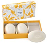 Bar Soap Set - Almond and Aloe Set of three 5.2oz bath bar by Caswell-Massey