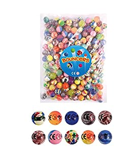 15 X Mixed Colour Jet Bouncy Balls(1)