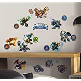 RoomMates RMK2666SCS Skylanders Classic Peel And Stick Wall Decals