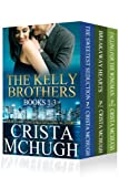img - for The Kelly Brothers Books 1-3 (The Sweetest Seduction/Breakaway Hearts/Falling for the Wingman) book / textbook / text book