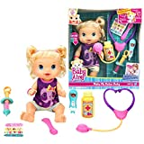 Hasbro Year 2012 Baby Alive Electronic 13 Inch Doll Set - BETTER NOW BABY (Caucasian Version) With L
