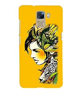 EPICCASE the fairy Mobile Back Case Cover For Huawei Honor 7 (Designer Case)