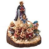 "Disney Traditions by Jim Shore Snow White and the Seven Dwarfs Figurine ""The One That Started Them All"" (4023573)"