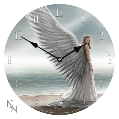 NEM05 Nemesis Now - Orologio da parete Anne Stokes-Angel Spirit Guide