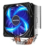 Kootek KC01 - High Performance 120mm CPU Cooler with 4 Direct Contact Heat Pipes / Aluminum Fins Computer Fan