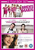Bridesmaids/The Five-Year Engagement/My Best Friend's Wedding [DVD]