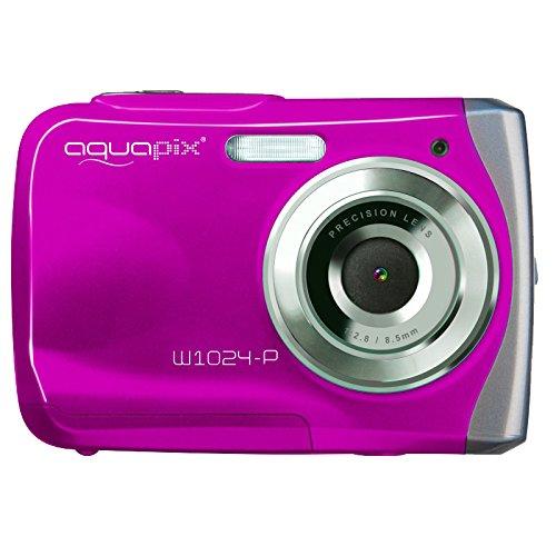 Easypix Aqua W1024 Rosa- Subacquea Fotocamera Digitale