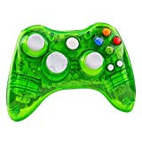 Youping Xbox 360 Controller-Wireless Clear LED Good Touch Joypad for Xbox 360 Console