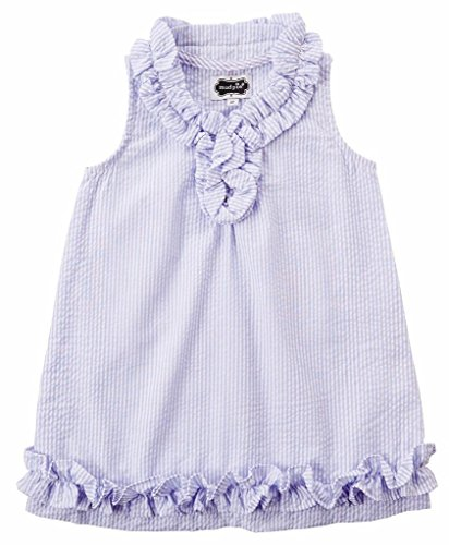 Mud Pie Mommy & Me Collection Blue Seersucker Dress, Girl's , 3T (Mud Pie Easter 3t compare prices)