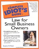 img - for Complete Idiot's Guide to Law for Small Business Owners by Maple, Stephen (2000) Paperback book / textbook / text book