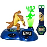 Childrens Ben 10 Alien Force Projection Clock with LCD Watch