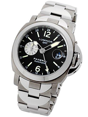 [パネライ] PANERAI 腕時計 ルミノールGMT 44mm SS/チタン PAM00161 自動巻き メンズ [中古品]