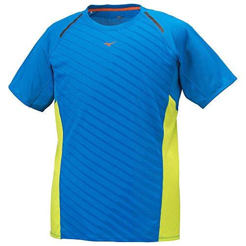 (ミズノ)MIZUNO(ミズノ) ランニングTシャツ [メンズ] J2MA5072 22 ディレクトリーブルー L
