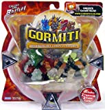 Gormiti Series 1 Action Figure 2-Pack Mimic the Fast and Mole the Holedigger (Random Colors)