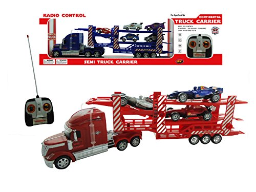 Continental Powerful Semi Truck Carrier R/C Light(color may vary) (Semi Trucks Rc compare prices)