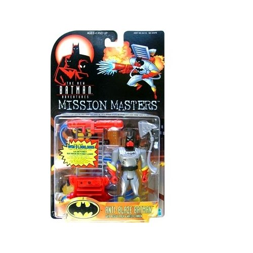 Batman: The New Batman Adventures Mission Masters Anti-Blaze Batman Action Figure