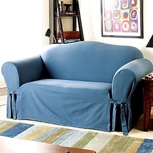 Amazon.com - Sure Fit Stretch Metro 2-Piece Sofa Slipcover ...  |Amazon Sure Fit Slipcovers