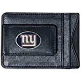 NFL New York Giants Leather Money Clip & Card Holder