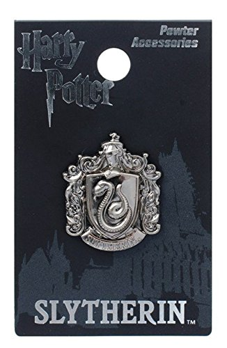 Harry Potter Slytherin Crest Pewter Lapel Pin