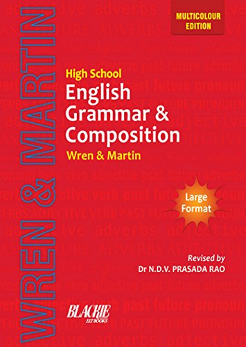 High School English Grammar & Composition  available at amazon for Rs.403