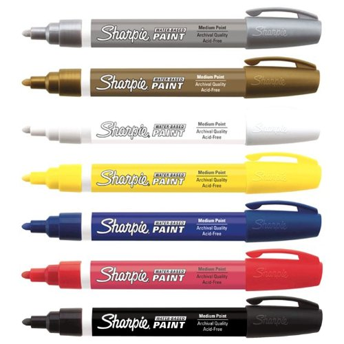 sharpie-paint-marker-kit-water-based-medium-point-7-colors