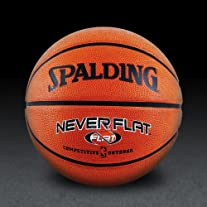 NBA NeverFlat Rubber Basketball