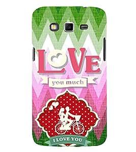 EPICCASE ride love Mobile Back Case Cover For Samsung Galaxy Grand Neo (Designer Case)