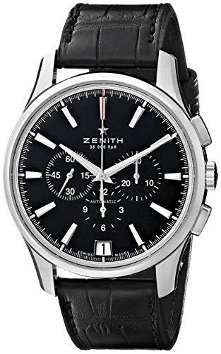 Zenith classique Captain Chronographe 36000VpH Montre Automatique pour Homme 03.2110.400/22.c493