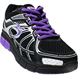 Gravity Defyer Women's Super Walk Black/Purple Mesh Size 10 Medium