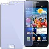 """2X ORIGINAL iProtect Displayschutzfolie Samsung Galaxy S2 II i9100 Displayschutz """"CrystalClear"""" unsichtbar Galaxy 2"""