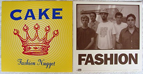 Cake - Fashion Nugget - Two Sided Poster - Rare