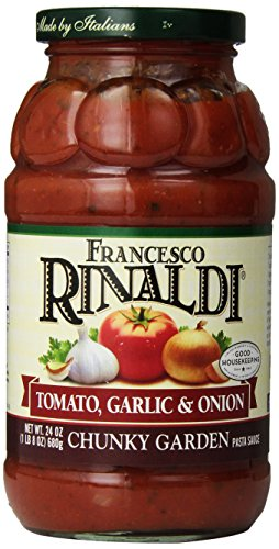 Francesco Rinaldi Chunky Garden Tomato, Garlic & Onion Pasta Sauce-24 OZ