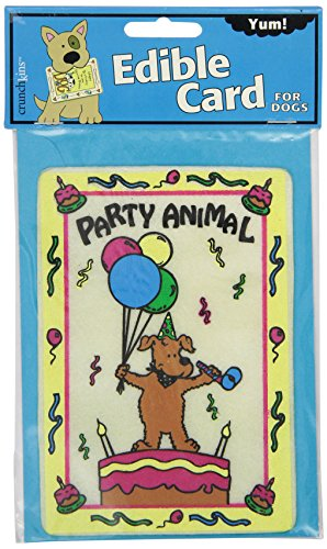 Crunchkins 1028 Edible Crunch Card, Party Animal