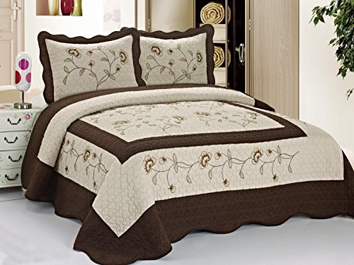 King Size Bedspreads 3544 back