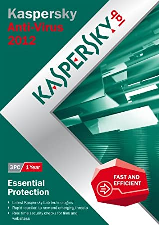 Kaspersky Anti Virus 2012 3 PC, 1 year license (PC)