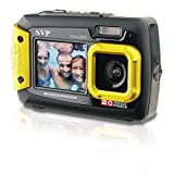 20MP Waterproof AQUA 8800 Shockproof UnderWater Digital Camera Video recorder (Yellow) By SVP