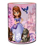 Disney Sofia The First Loving Princess Square Flameless Candle