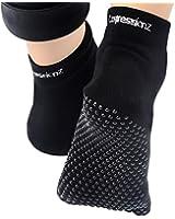 Yoga Socks Non Slip Full Toe - Women & Men Pilates Strong Grip, Non Slid