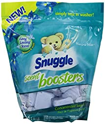 Snuggle Scent Boosters Blue Iris Bliss 56 Count