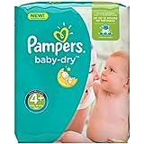 Pampers Baby Dry Windeln, Gr.4+ (Maxi+) 9-20kg, Monatsbox, 152 Stück