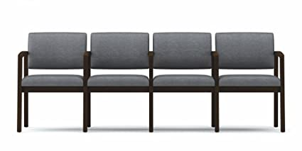 Lesro L4103G5 Lenox Series 4 Seat Sofa with Center Arms