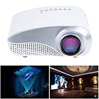 MeGooDo LED Mini Portable Projector Fashionable Home Theater for Video Games TV Movie TXT Music by MeGooDo