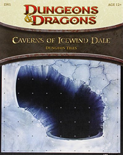 Caverns of Icewind Dale - Dungeon Tiles: A 4th Edition D&d Accessory (