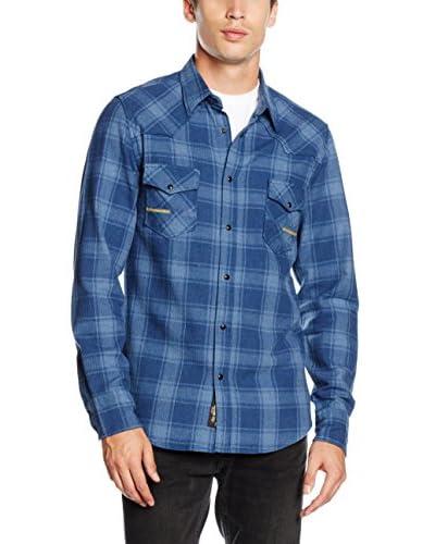 Meltin Pot Camicia Uomo [Blu Navy]